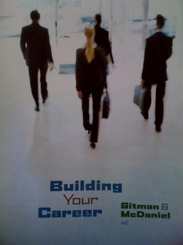 Building Your Career Booklet (Book Only)