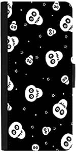 Snoogg Skull Pattern 2437 Designer Protective Flip Case Cover For Sony Xperia...