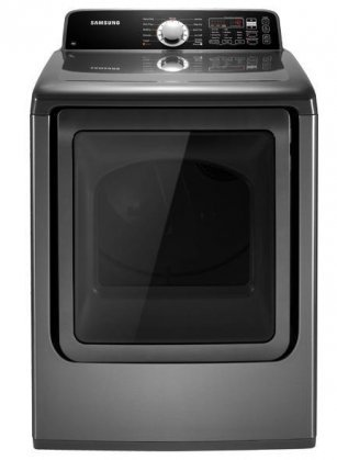Samsung DV456EWHDSU 7.3 Cu. Ft. Platinum Electric Front Load Dryer