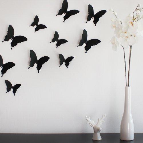 Wandkings 3D-10731 Schmetterlinge im 3D-Style,