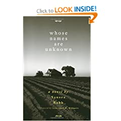 Whose Names Are Unknown: A Novel by Sanora Babb and Lawrence R. Rodgers