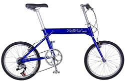 Xootr Swift Folding Bicycle - Blue by Xootr