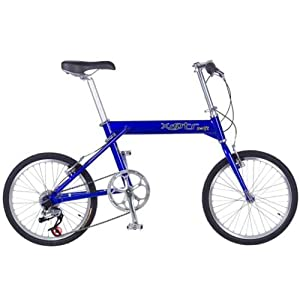 Xootr Swift Folding Bicycle - Blue