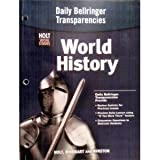 Daily Bellringer Transparencies for World History Holt Social Studies