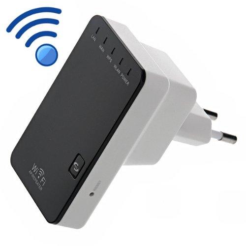 Foxnovo 300Mbps Wireless-N Mini Router Ap / Repeater Bridge 802.11B/G/N Signal Range Expander Signal Booster