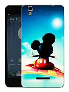 "Humor Gang Flying Mouse In Sky Printed Designer Mobile Back Cover For ""Yu Yureka"" (3D, Matte, Premium Quality Snap On Case)"