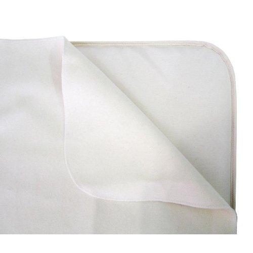 Naturepedic Waterproof Flat Crib Pad, 28x52