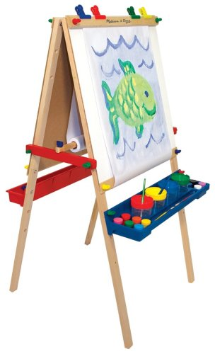 Melissa & Doug Deluxe Standing Easel | Baby's Store from ibabystore.net