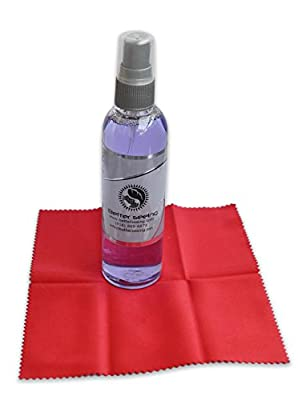 #1 Rated Better Seeing Premium 2 Oz Eyeglass Cleaner Spray + Free Microfiber Cloth - For Eyeglass Cleaning, Tablets, LCD Screens, Smartphones, Camera Lenses (Safe to Use)- Cleaning Kit Lasts for One Year - 100% Satisfaction Guarantee