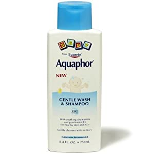 Eucerin Aquaphor Baby Gentle Wash & Shampoo 2 in 1 Formula Bath And Shower Gels