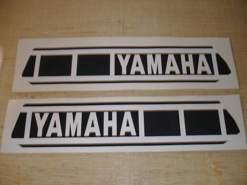 1980 Yamaha Yz 125 250 Gas Tank Decal Set