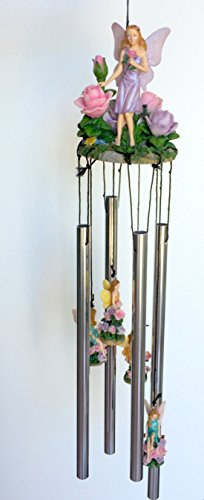 Fairy Roses Figure Wind Chime 24