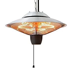 Ener-G+ Infrared Indoor/Outdoor Ceiling Electric Patio Heater,