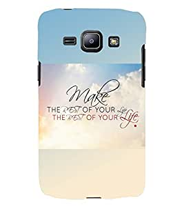 PRINTSWAG QUOTE Designer Back Cover Case for SAMSUNG GALAXY J1