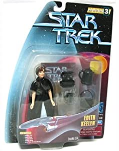 """EDITH KEELER Star Trek: The Original Series Warp Factor Series 3 Action Figure from the Episode """"The City on the Edge of Forever"""""""