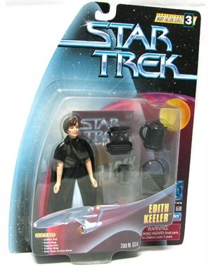 "EDITH KEELER Star Trek: The Original Series Warp Factor Series 3 Action Figure from the Episode ""The City on the Edge of Forever"""