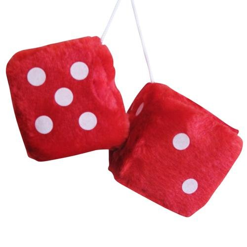 red-fluffy-furry-dice-hang-in-car-car-accessory