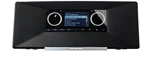 MEDION LIFE P85035 MD 87090 WLAN Internet Radio mit DAB+, FM UKW Radio, RDS, AUX, RJ45, schwarz