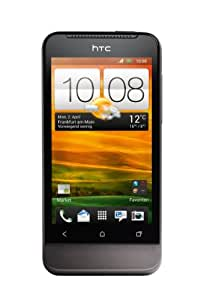 HTC ONE V Smartphone (9,4 cm (3,7 Zoll) Touchscreen, 5 Megapixel Kamera, Android OS) grau