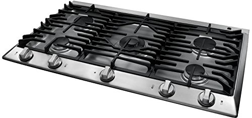 Dacor Distinctive Series 36 inch Stainless Steel Gas Cooktop - DCT365SLP