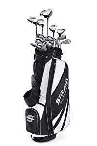 Callaway Men's Strata Ultimate 18-Piece Golf Complete Set, Right, Regular, Graphite Hybrids with Steel Irons