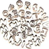 Versand aus Deutschland! 37tlg. Ausstecher Ausstechform Backen Keksausstecher Buchstaben Alphabet A-Z Zahlen 0-9 Backform
