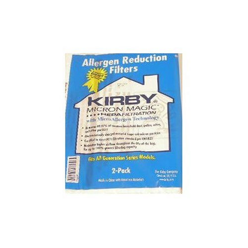 Kirby Allergen Reduction Filters (2 Pk.) For All Generation Models Including Kirby Sentria, Ultimate G, And Kirby G3-G6