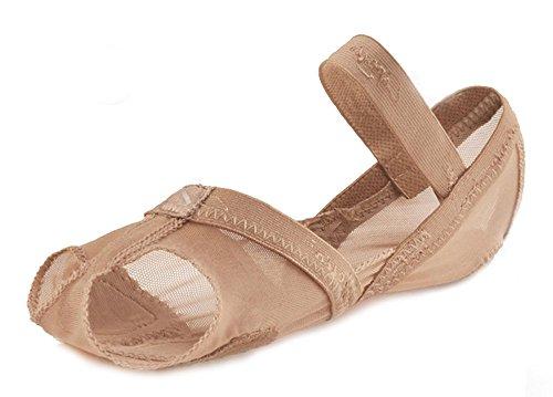 capezio-zapatillas-de-danza-para-mujer-color-beige-talla-4-5-uk-small