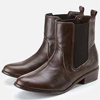 イーハイフンワールドギャラリー(E hyphen world gallery) ブーツ(サイドゴアショートブーツ)