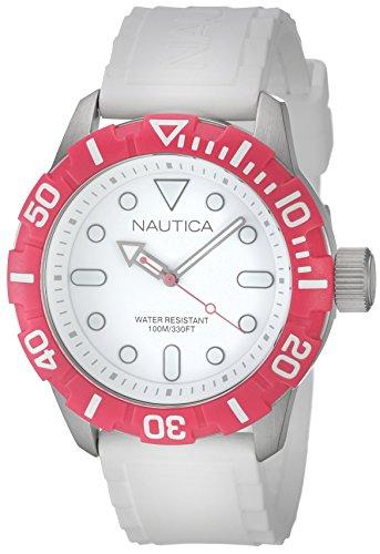 Nautica A11603G - Orologio da polso unisex, resina, colore: rosa