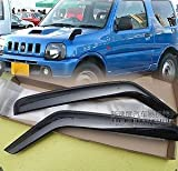 1998 1999 2000 2001 2002 2003 2004 2005 2006 2007 2008 2009 2010 2011 2012 2013 3 Door Window Door Rain Guard Vent Wind Deflector Visors Fit For Chevrolet Suzuki Jimny Jimmy