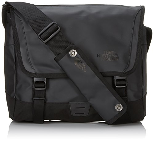The North Face T0A6SAJK3 Borsa a tracolla Base Camp Messenger, taglia S (33.5x27.5x11 cm), Nero (Tnf Black)