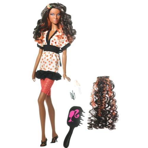 Mattel Barbie Top Model Hair Wear Nikki Doll