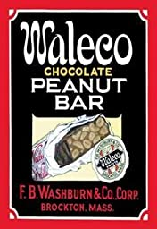 30 x 20 Stretched Canvas Poster Waleco Chocolate Peanut Bar #1