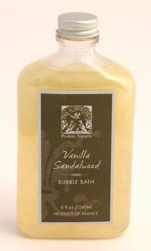 Pre de Provence Bubble Bath, Vanilla/Sandalwood, 8 ounces Bottle