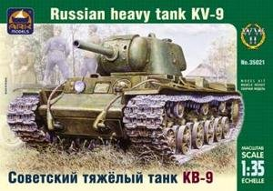 3502 Ark Models 1:35 - Russian heavy tank KV9 model kit