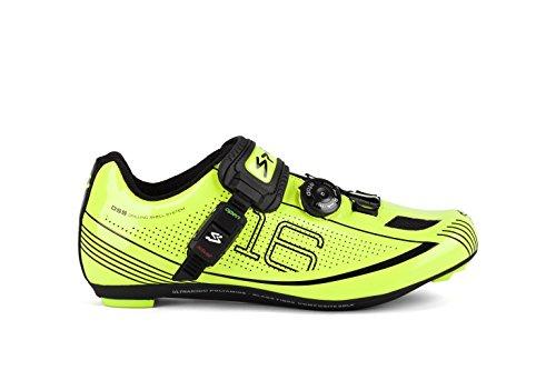 spiuk-16-road-scarpe-unisex-colore-giallo-nero-taglia-43