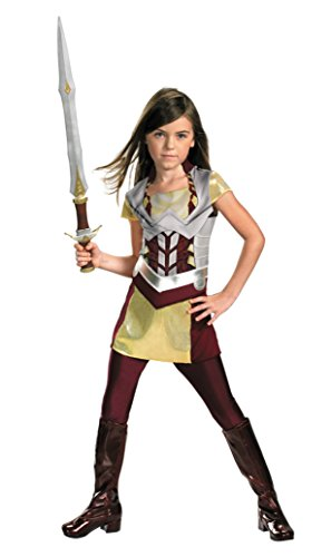 Girls Thor Sif Kids Child Fancy Dress Party Halloween Costume