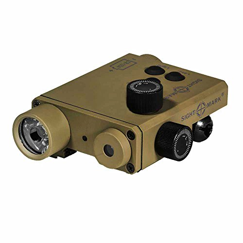 Sightmark LoPro Combo Green Laser/220 Lumens Flashlight, Dark Earth (Dark Earth Quad Rail compare prices)