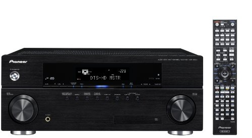 Pioneer VSX2020K - AV Receiver, Made For Ipod And Works With Iphone, Advanced Sound Retriever