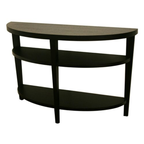 Buy low price we furniture 52 inch wood console table tv for Low sofa table