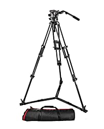 Manfrotto 526,545GBK Video Kit with 526 Video Head and 545GBK Tripod (Black)