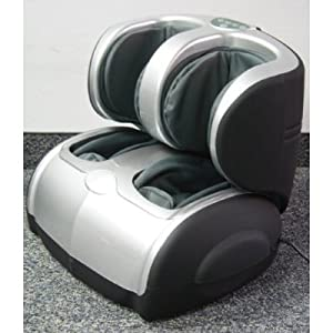 Leg Beautifician C-22 ultra deluxe air bags pneumatic Leg and Calf Massager by The Decor Collection