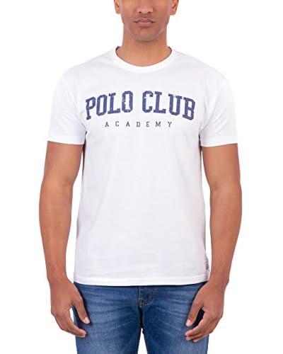 Polo Club T-Shirt Manica Corta Academy Tshirt [Bianco]