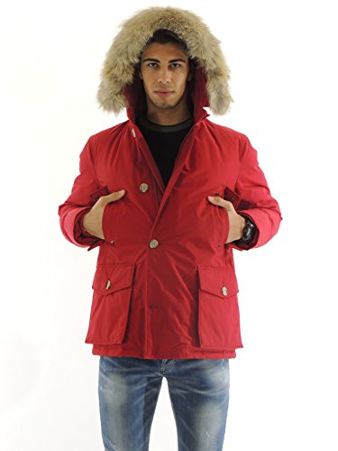 woolrich-manteau-homme-large-rouge-rouge