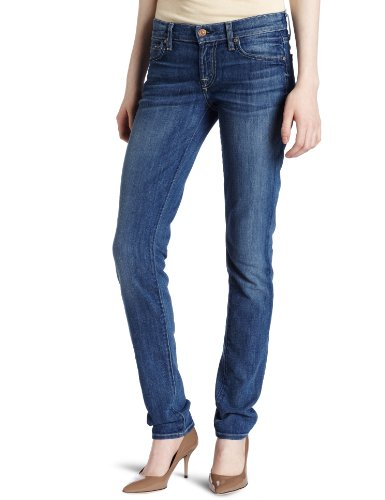 7 For All Mankind Women's Roxanne Classic Slim Fit Jean, Heritage Light, 32