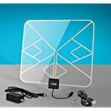 Solid Signal HDBLADE Amplified Flat Clear Indoor TV Antenna (HDBLADE100CA)