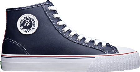PF Flyers Unisex Center Hi Sneaker,Navy,Men's 9 M/Women's 10.5 M