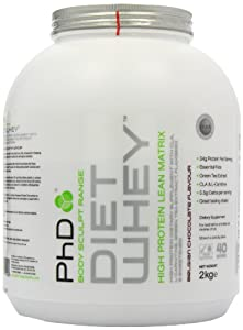 PhD Diet Whey High Protein Lean Matrix - Belgian Chocolate Flavour - 2kg