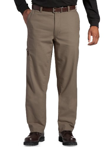 Dockers Mens Big And Tall Comfort Cargo Classic Fit Flat Front Pant, Khaki/Beige, 50x30